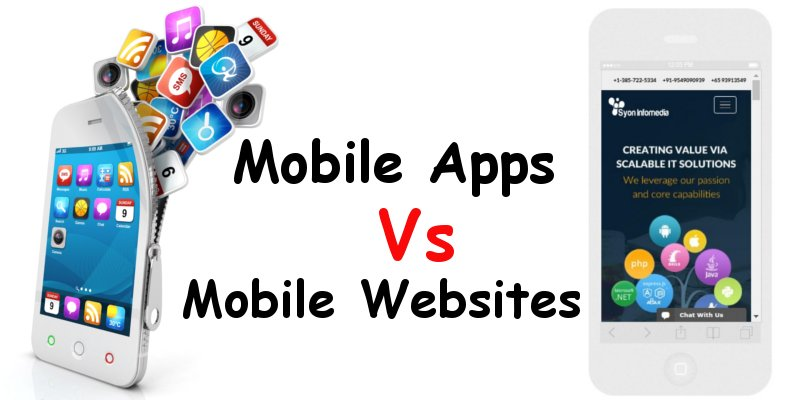 Mobile Apps vs Mobile Websites